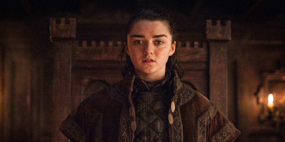 Arya Stark On Of Thrones