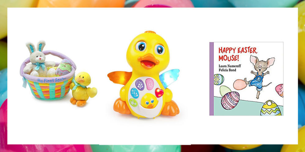 15 cute easter gifts for babies babys first easter basket fillers 15 photos negle Images