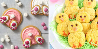 Candy Filled Easter Cake Recipe