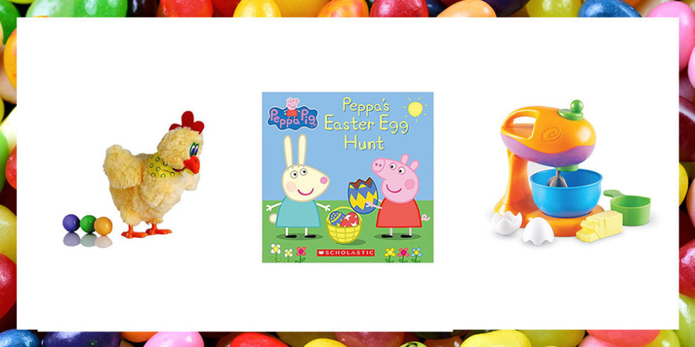 15 best easter gift ideas for toddlers fun toddler easter basket first comes the easter egg hunt then comes a basket or gift filled with cheer these bunny themed games easter books and cute chicks are perfect for the negle Gallery