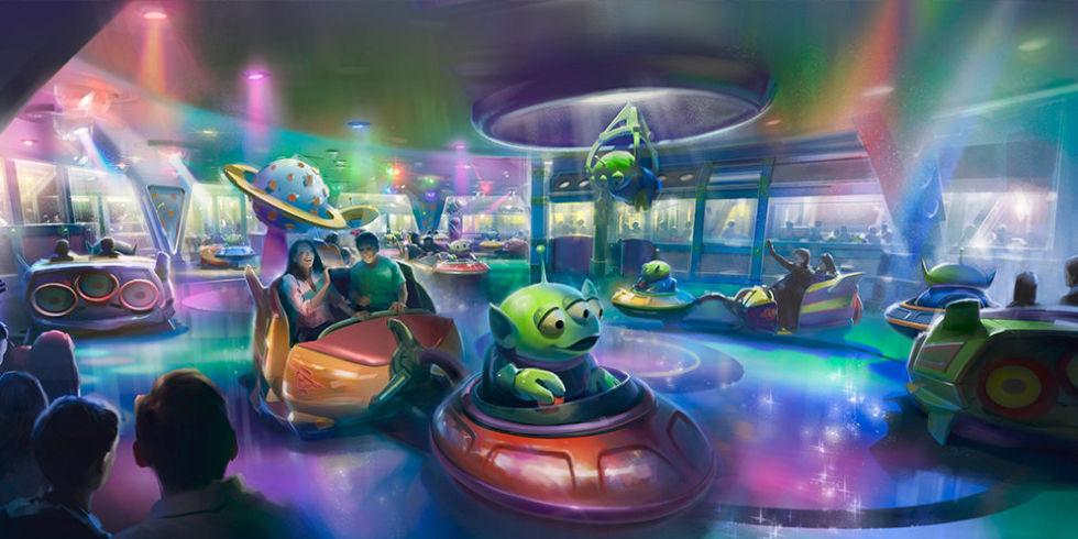 Resultado de imagem para toy story land