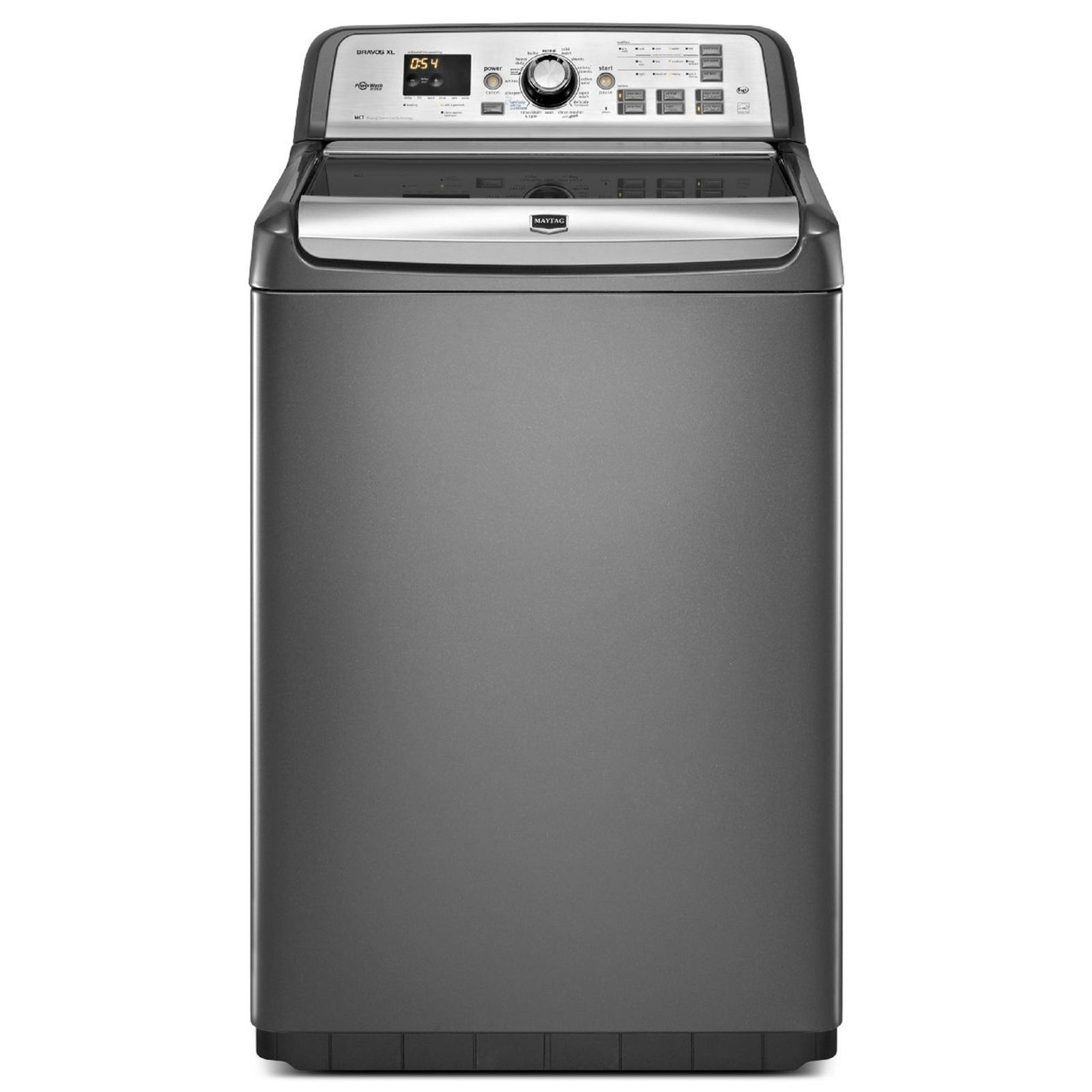 Maytag 4 8 cu ft bravos xl he top load washer with steam - Maytag whirlpool ...
