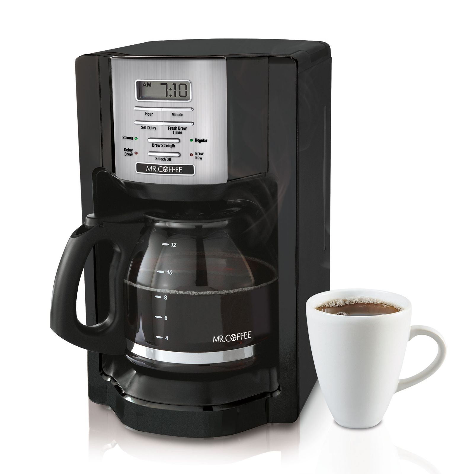 Mr Coffee K Cup Maker Review : Mr. Coffee 12-Cup Programmable Coffeemaker #BVMC-EHX23 Review