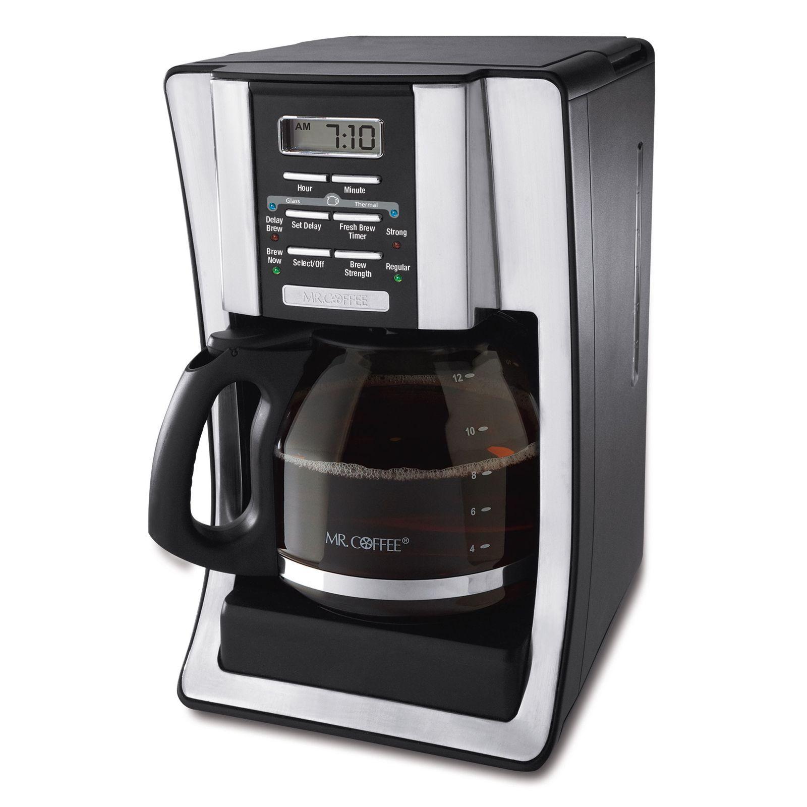 Mr. Coffee 12-Cup Programmable Coffeemaker #BVMC-SJX33GT Review