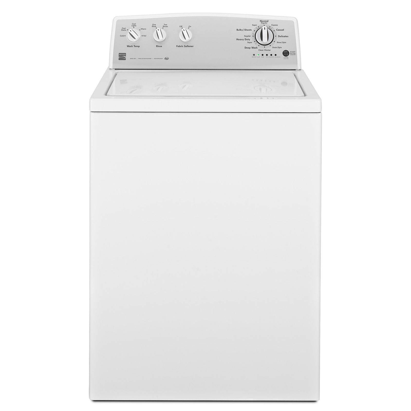Kenmore 3 6 Cu Ft Top Load Washer With Deep Wash Cycle