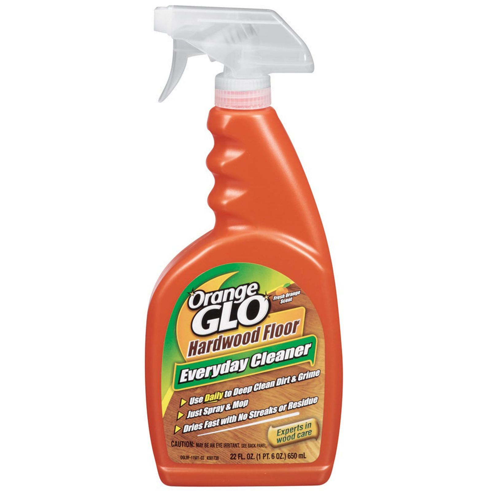 Orange glo hardwood floor everyday cleaner review for Hardwood floor cleaner
