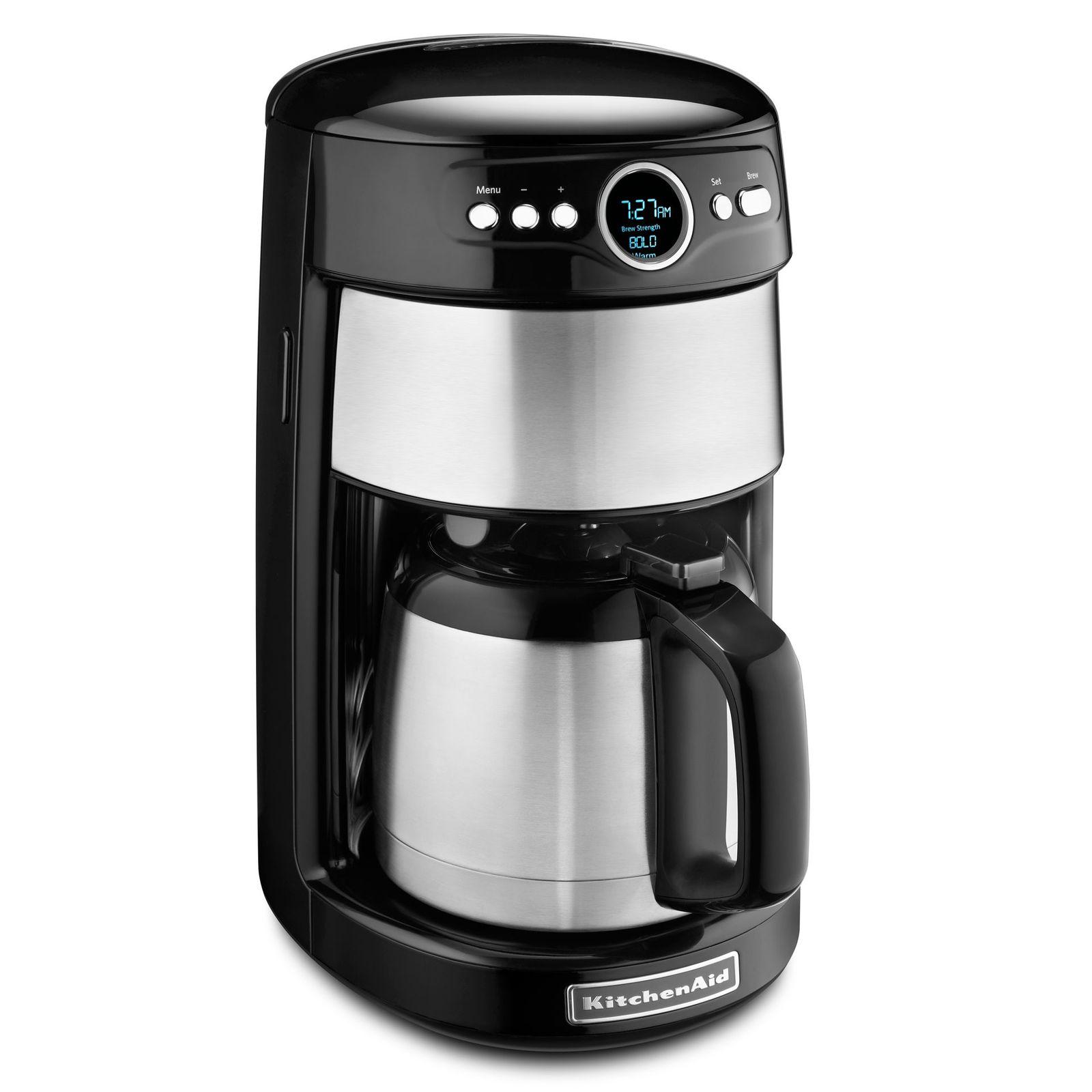 5500956670869 ghk kitchenaid 12 cup thermal carafe coffeemaker kcm1203 s2 Kitchenaid  Cup Coffee Maker Kcmob