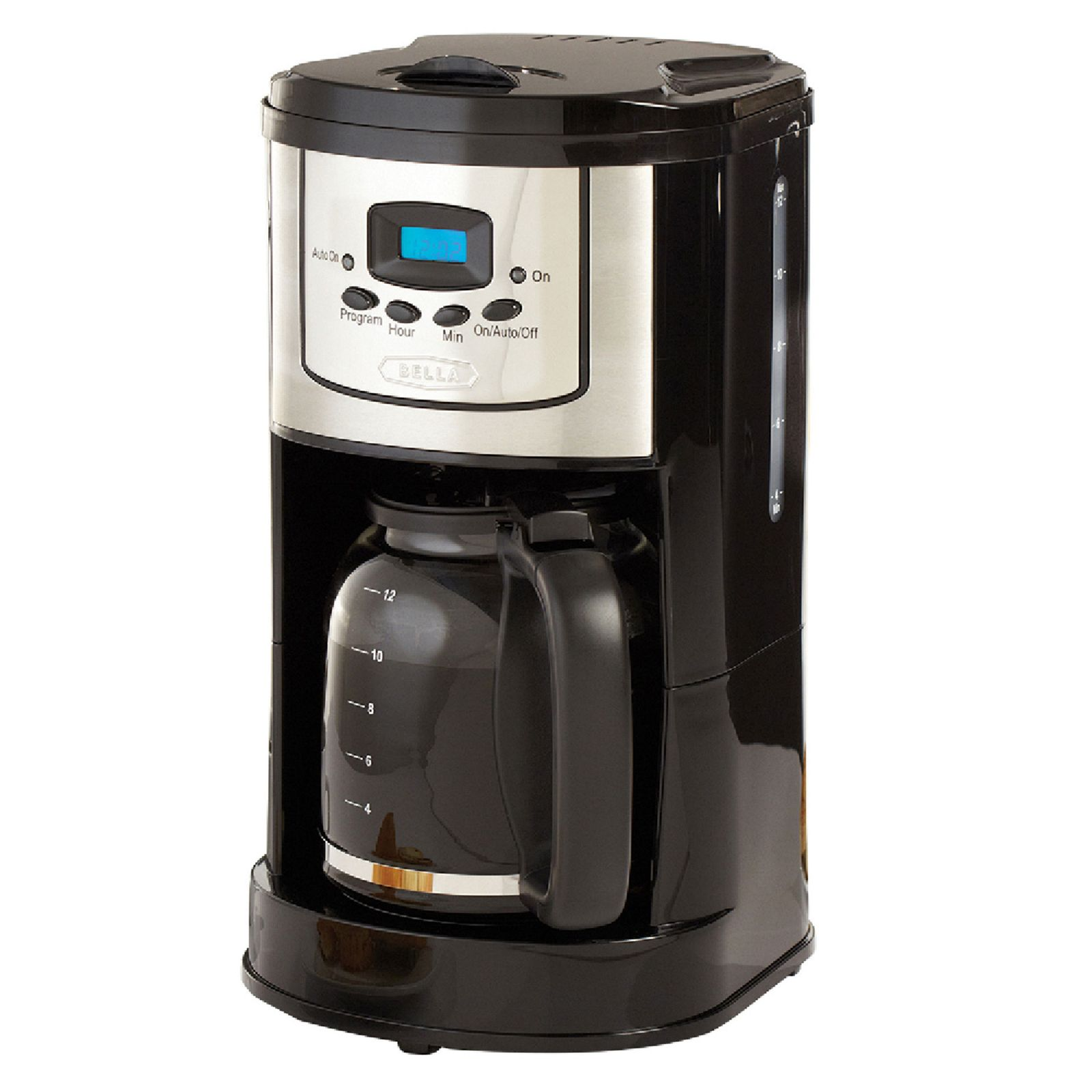 Bella Coffee Maker One Cup Reviews : Bella 12-Cup Programmable Coffeemaker #13923 Review