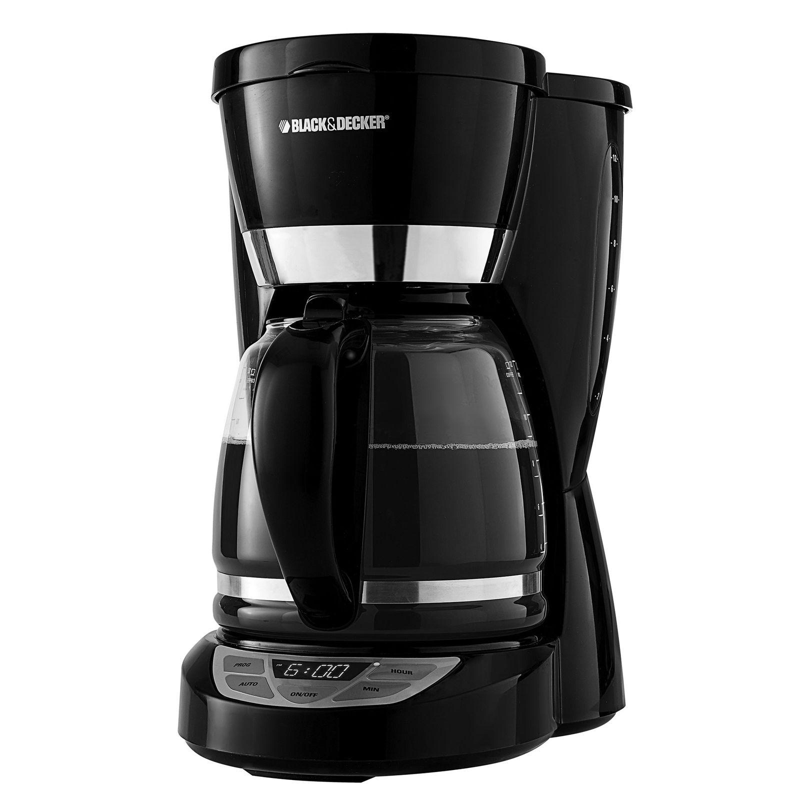 Black & Decker 12-Cup Programmable Coffee Maker #CM1050B Review