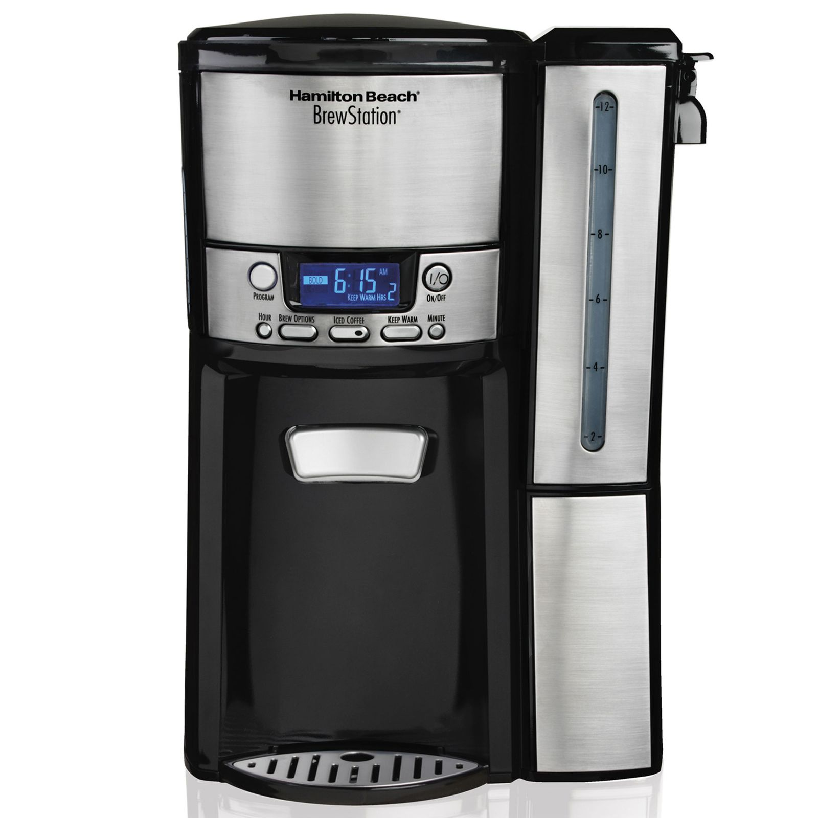 Hamilton Beach BrewStation 12-Cup Dispensing Coffee Maker With Removable Reservoir #47950 Review