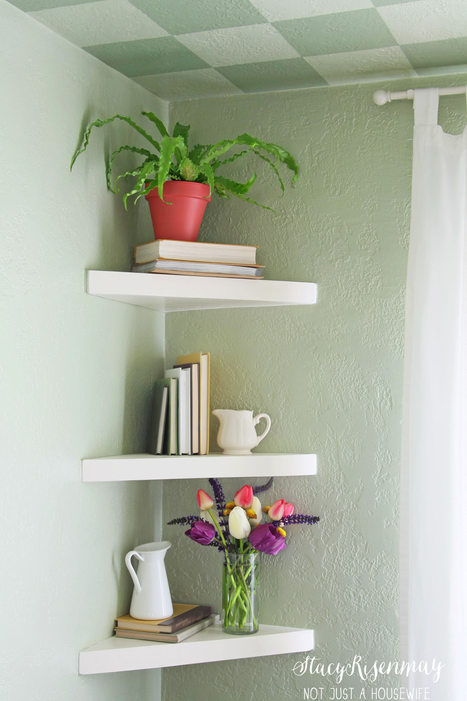 Ideas for floating shelves floating shelf styles amipublicfo Image collections