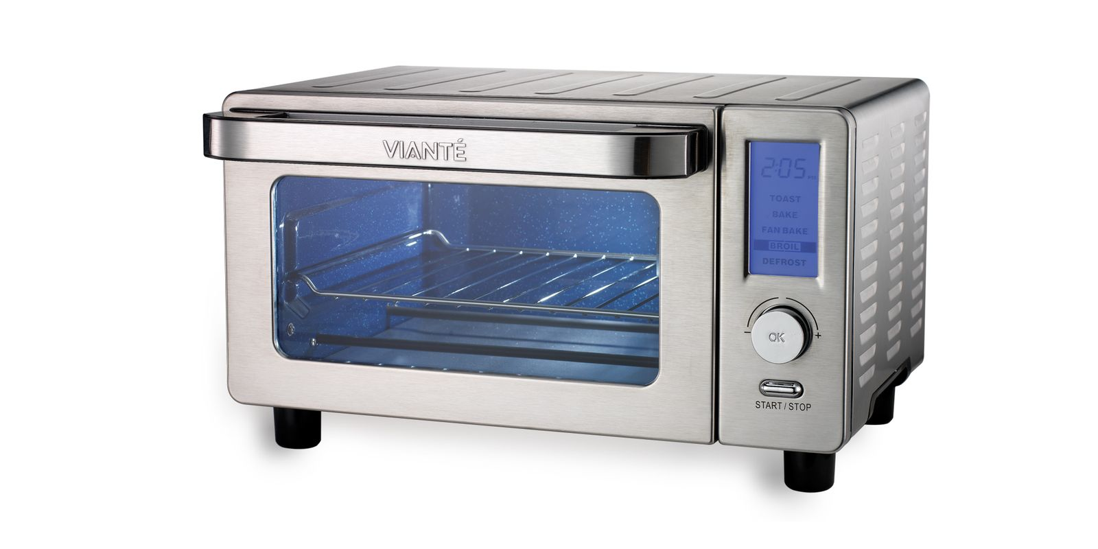 viante true blue convection toaster oven cuc 04e