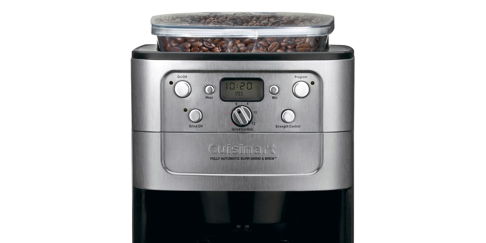 Cuisinart Burr Grind & Brew Automatic Coffeemaker #DGB-900BC Review