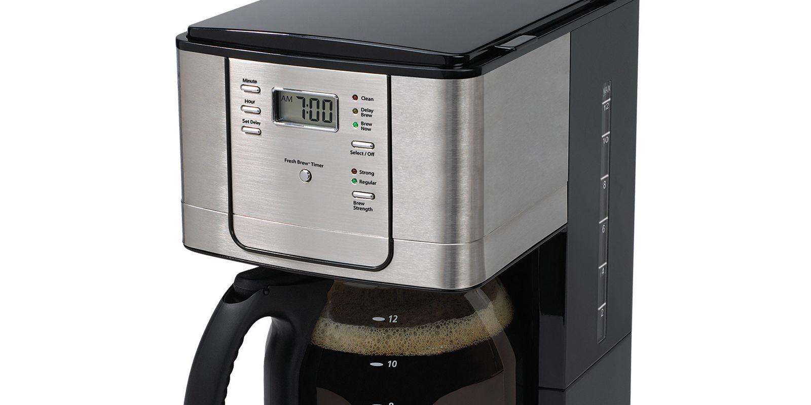 Good Housekeeping Coffee Maker Ratings : Mr. Coffee 12-Cup Programmable Coffeemaker #JWX31-NP Review
