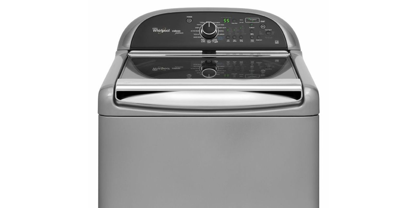 whirlpool cabrio platinum 48 cu ft he top load washer with sanitary cycle wtw8900bc review