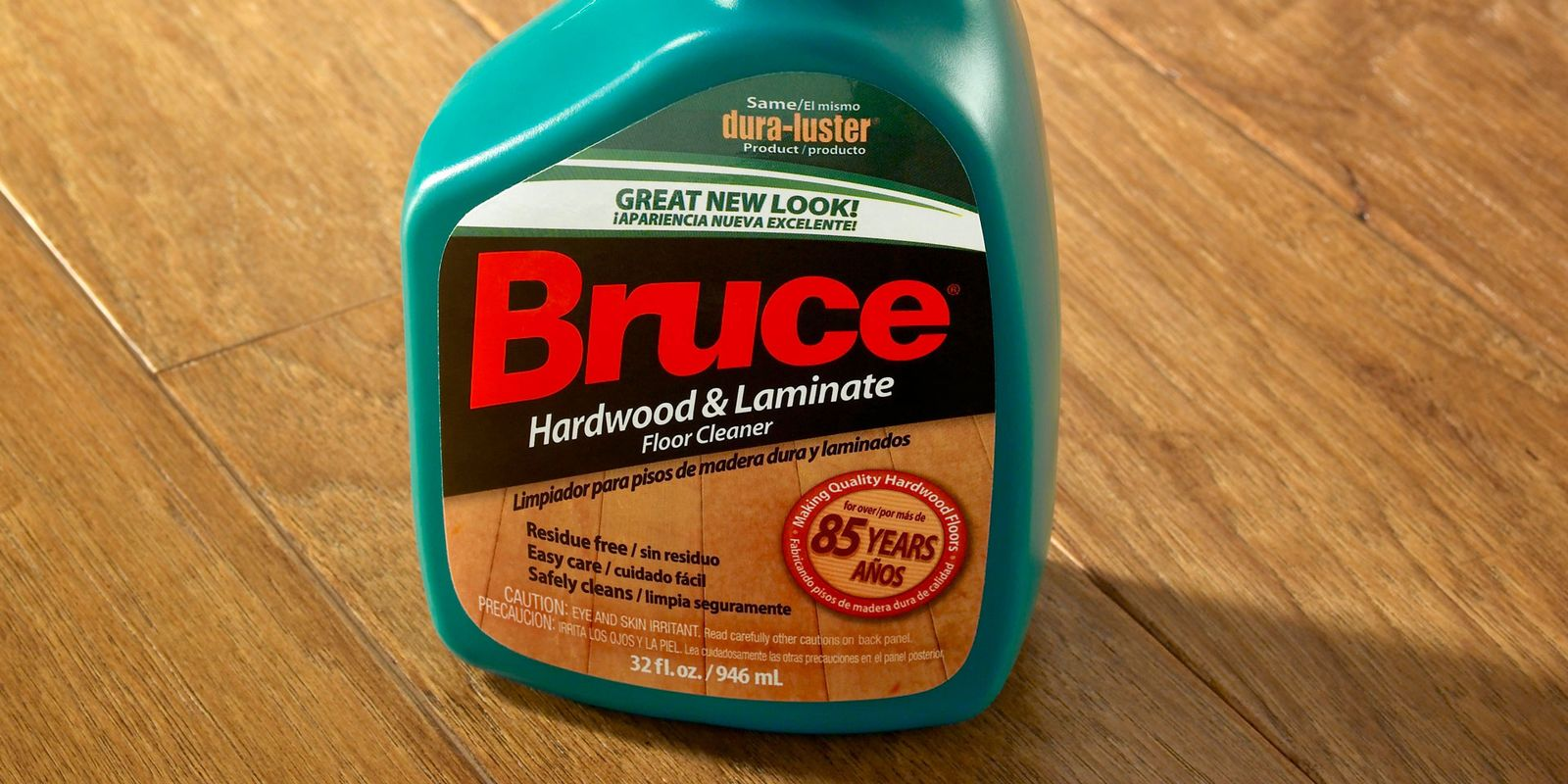 Bruce hardwood and laminate floor cleaner review for Hardwood floor cleaner