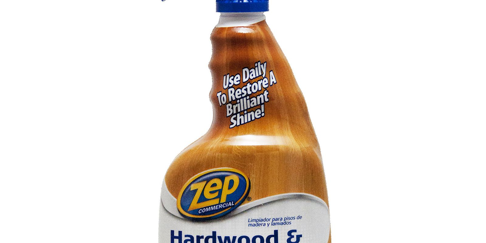 ZEP Commercial Hardwood Laminate Cleaner Review - Clean laminate wood floors