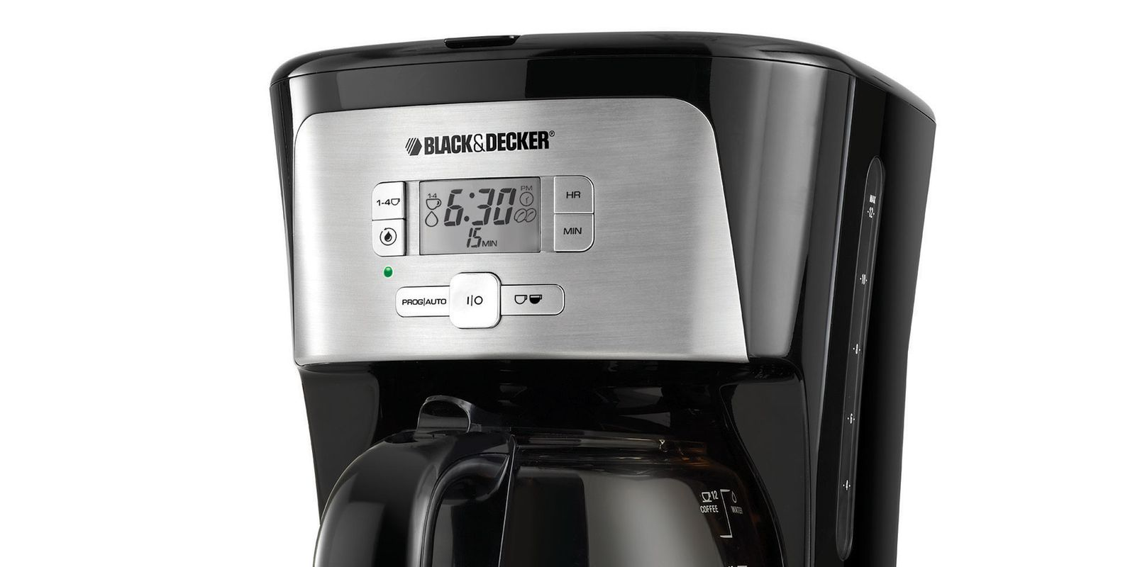 Black And Decker Coffee Maker Timer Instructions : Black & Decker 12-Cup Programmable Coffee Maker #CM2020B Review