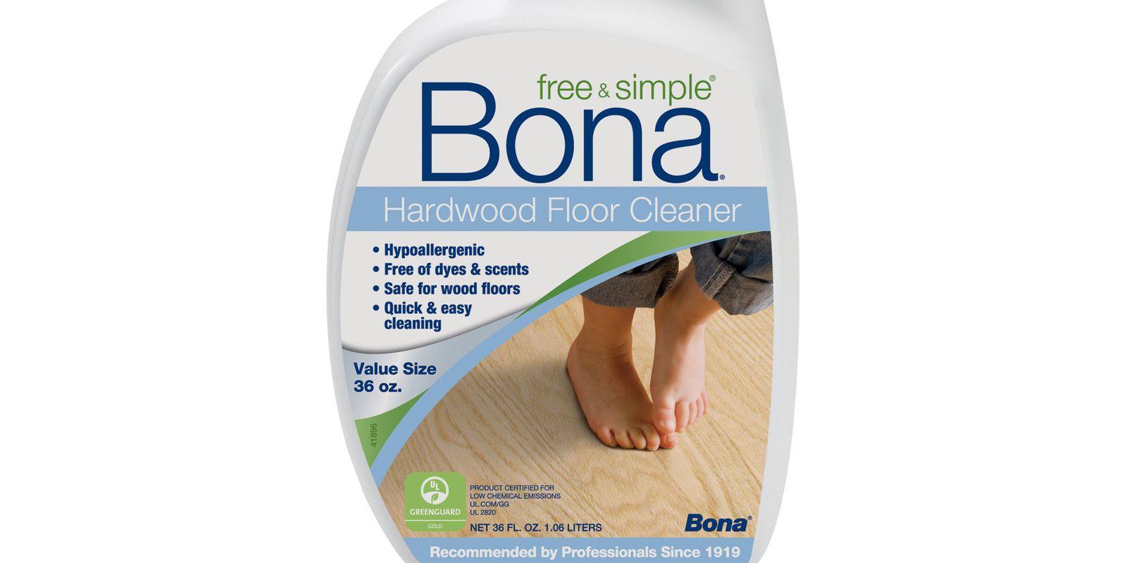 bona free & simple hardwood floor cleaner review