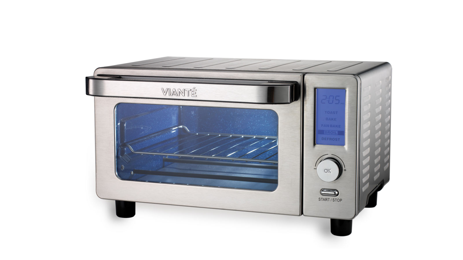 Oven Toaster: Viante True Blue Convection Toaster Oven