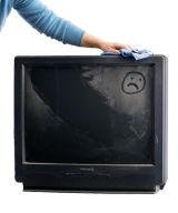 tv cleaning tips how to clean a flat screen tv. Black Bedroom Furniture Sets. Home Design Ideas