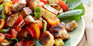 Smoky Chicken And Pepper Salad