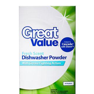 Walmart Great Value Dishwasher Detergent · Best Dishwasher Detergents