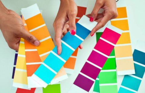how to choose a paint colour shade