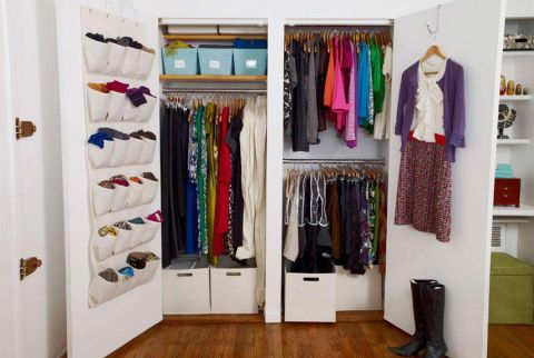 Home organization tips ideas and products for home organization - Cool closet ideas for small bedrooms for your space saving storage solution ...