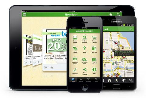 Best apps for moms best websites for moms for Coupon cabin app