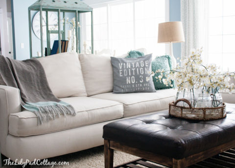 Style A White Sofa How To Decorate A White Couch