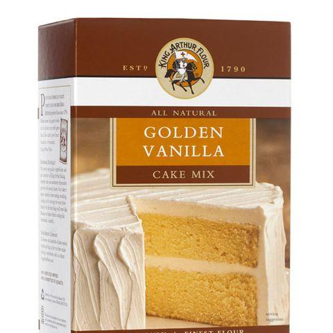 King Arthur Flour All Natural Golden Vanilla Cake Mix