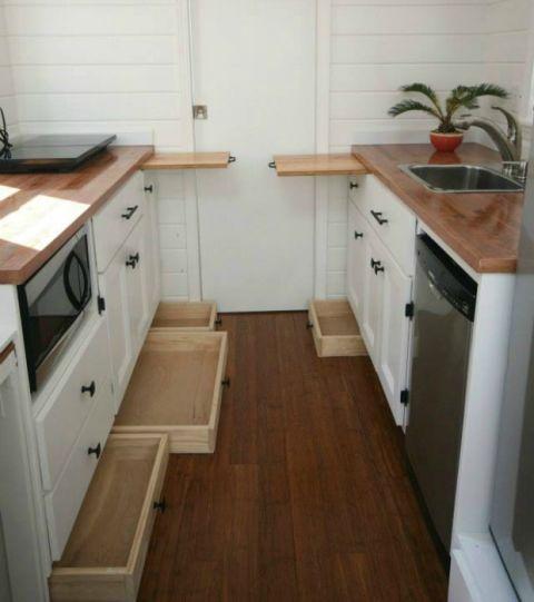 Tiny House Storage Tricks