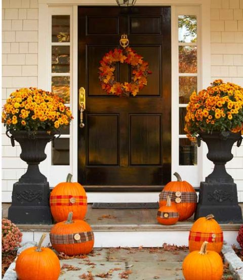 mums the word - Fall House Decorations