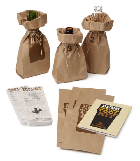 For the beer aficionado, it doesn't get better than the Beer Tasting Test Kit ($18, uncommongoods.com), which comes with paper sleeves for 18 bottles, cans, or pints; tasting notepads; and a 48-page booklet, all designed to help your dad discover (and remember) his favorite brews.