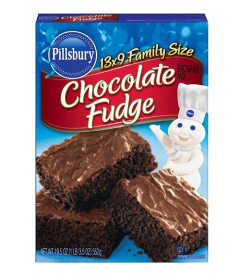 How To Make Brownies From Pillsbury Cake Mix