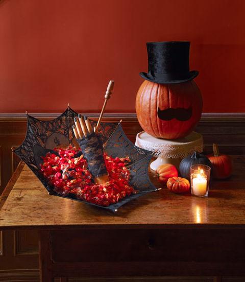 halloween deko selber machen so wird das fest richtig gruselig. Black Bedroom Furniture Sets. Home Design Ideas