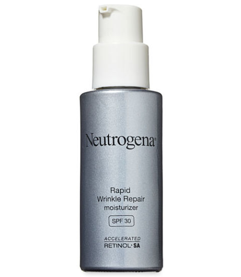 It's easy to forget to slather on SPF when you're not heading out for a day at the beach, so instead reach for a moisturizer that already includes it, like Neutrogena Rapid Wrinkle Repair Moisturizer with SPF 30 ($22, amazon.com). This 2013 Anti-Aging Award winner hydrated skin in GHRI tests and garnered rave reviews from our volunteers for improving skin tone and softening fine lines.<br />