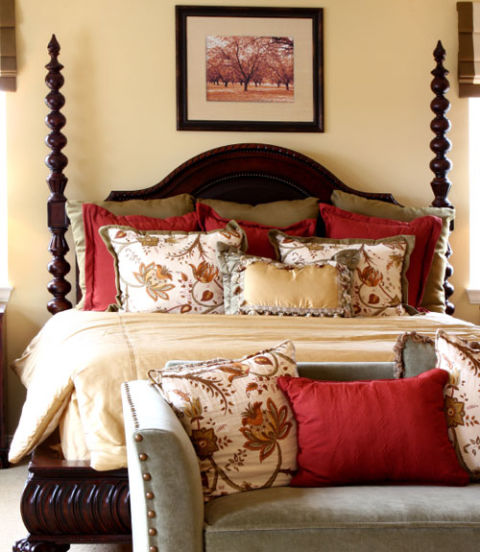 Attractive 70 Bedroom Ideas For Decorating   How To Decorate A Master Bedroom