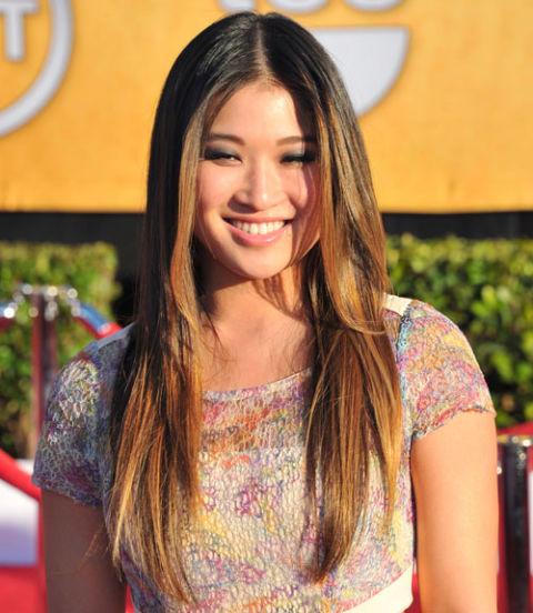Straight Hairstyles 35 fetching hairstyles for straight hair to sport this season Jenna Ushkowitz
