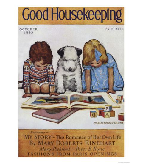 Good Housekeeping: 1930s Vintage Cover Art