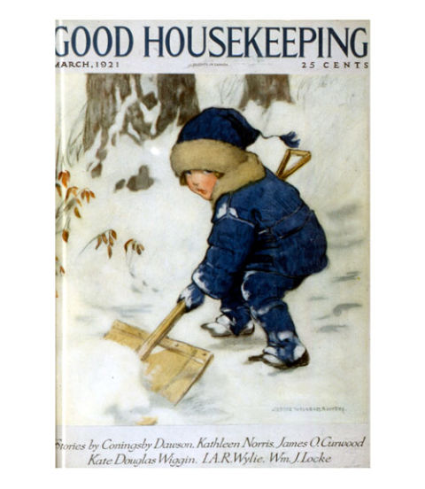 Good Housekeeping: 1920s Vintage Magazine Covers