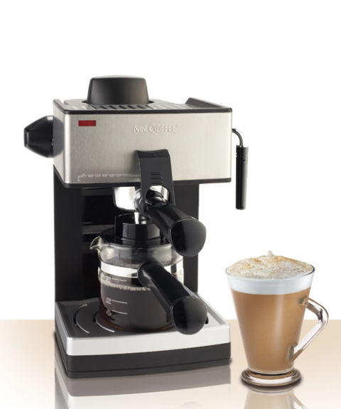 mr coffee espresso and cappuccino maker ecm250 manual