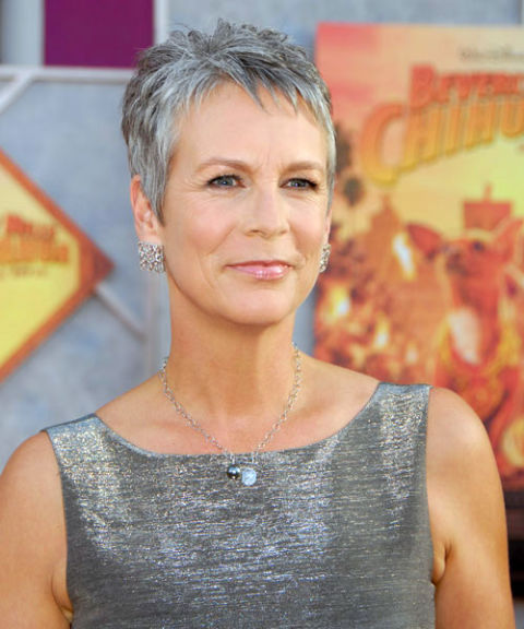 Gray Hairstyles 50 hot hairstyles for women over 50 Jamie Lee Curtis Gray Hair