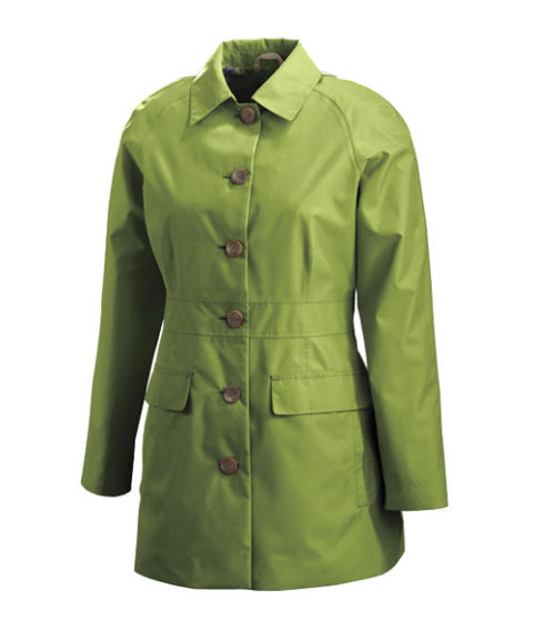 Casual raincoats for women best casual raincoat reviews for Lands end logo shirts