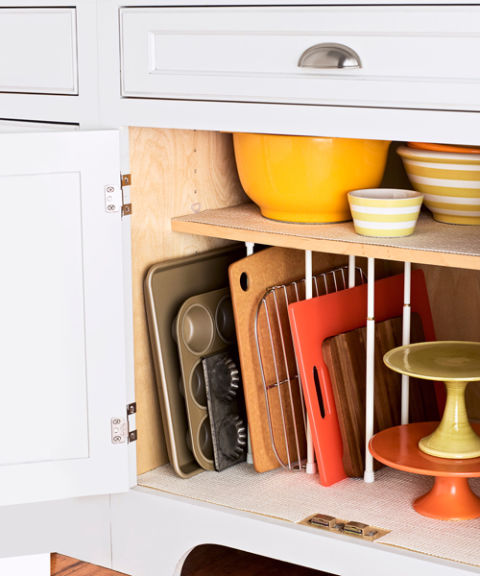 kitchen cookware  storage  organizing,