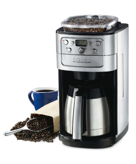 Cuisinart grind and brew troubleshooting