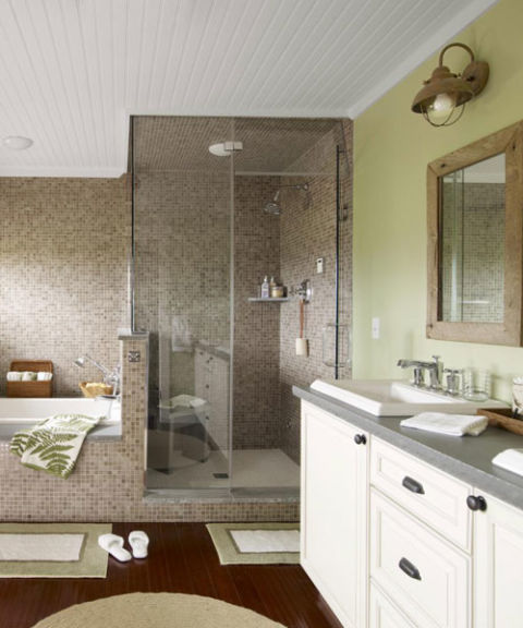 Bathroom makeover ideas pictures of master bathroom makeover for Good housekeeping bathroom ideas