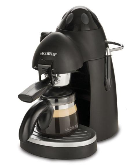 Mr Coffee Latte Maker ~ Electric steam espresso machines automatic