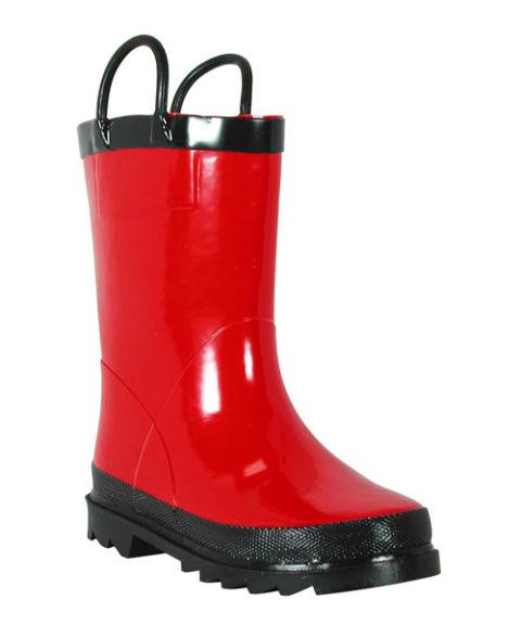 Cheap Red Rain Boots